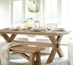Barn Dining Table Extending Bench 3 Piece Set Pottery Plans