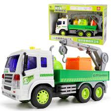 2018 Hot Purifier Recycle Trash Car Truck Friction Powered 1:16 With ...