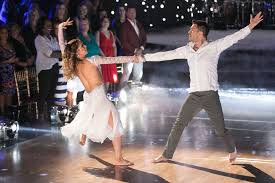 Allison Holker And Andy Grammer In DANCING WITH THE STARS