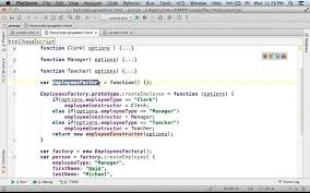 Decorator Pattern Javascript Example by Factory Design Pattern In Javascript Youtube