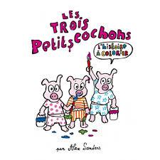 Coloriage Les 3 Petit Cochon Coloriage 3 Petit Cochon Imprimer
