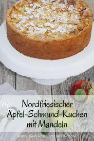 nordfriesischer apfel schmand kuchen mit mandeln