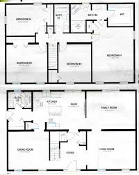 The Two Story Bedroom House Plans by 2 Story Polebarn House Plans Two Story Home Plans House Plans