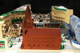 lego siege social this amazing bullring lego model has been discovered and restored