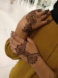 Mendhi Style Tattoo