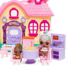 DIY Wood Dollhouse Miniature With LEDFurnitureCover Doll House