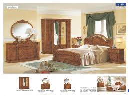 Bedroom FurnitureBedroom Italian Furniture Luxury Milady Walnut Camelgroup Throughout Provincial