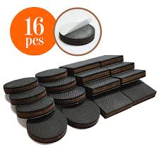 Rubber Furniture Pads For Wood Floors by Furniture Pads Amazon Com Hardware Furniture Hardware