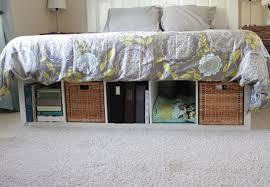 Diy Platform Bed With Storage by Diy Twin Platform Bed With Storage Fpudining