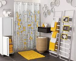 modern grey and yellow bathroom white gray and yellow bathroom
