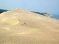 la dune du pyla ou pilat site de la fnasce des