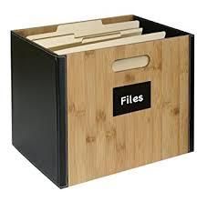 Amazon G U S Decorative fice File Box For Letter Size