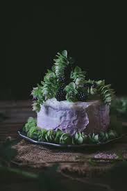 Adventures In Cake Decorating by Oregano Honey Cake With Blackberry Buttercream A Cookbook