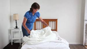 Dust Mite Bed Covers by How To Put An Allergy Free Dust Mite Cover Onto Your Quilt Video 3