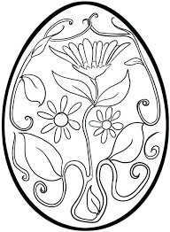 Small Easter Egg Coloring Pages Basket Sheet Explore Sheets Free Printable Full Size