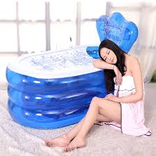 Inflatable Bathtub For Adults Online India by Honana Bx 079 Foldable Blowup Inflatable Pvc Bathtub Home Spa