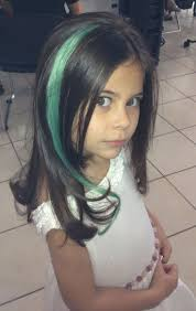 Colored Hair Extensions For Kids