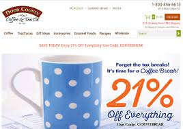 Door County Coffee Coupon Code / American Eagle Coupons Canada July 2018 Amoda Tea August 2018 Subscription Box Review Coupon Hello Cherry Moon Farms Free Shipping Coupon Code Budget Moving Truck Teavana Keep It Peel Citrus Sample Dealmoon 9 Teas To Help You Unwind Before Bed Codes And Rebate Update Daily Youtube Pens Promo Naturaliser Shoes Singapore Thread Up Codes For Pizza Hut Gift Cards Quick Easy Vegetarian Recipes Dinner Guide Optimizing In Your Email Marketing Campaigns Andalexa Carnival Money Aprons Smog Center Roseville