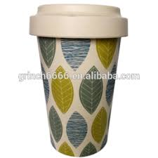 New Design Eco Reusable Coffee Cups Bamboo With FDA Certification