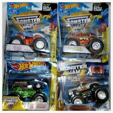100 Shark Wreak Monster Truck HOT WHEELS 164 MONSTER JAM 4 PACK PROWLER SHARK WREAK EL TORO LOCO