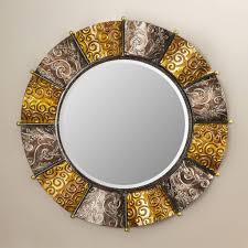 Wayfair Oval Bathroom Mirrors by Furniture Round Gold Wayfair Mirror For Home Furniture Ideas