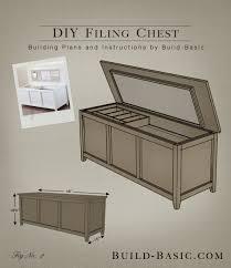build a diy filing chest u2039 build basic