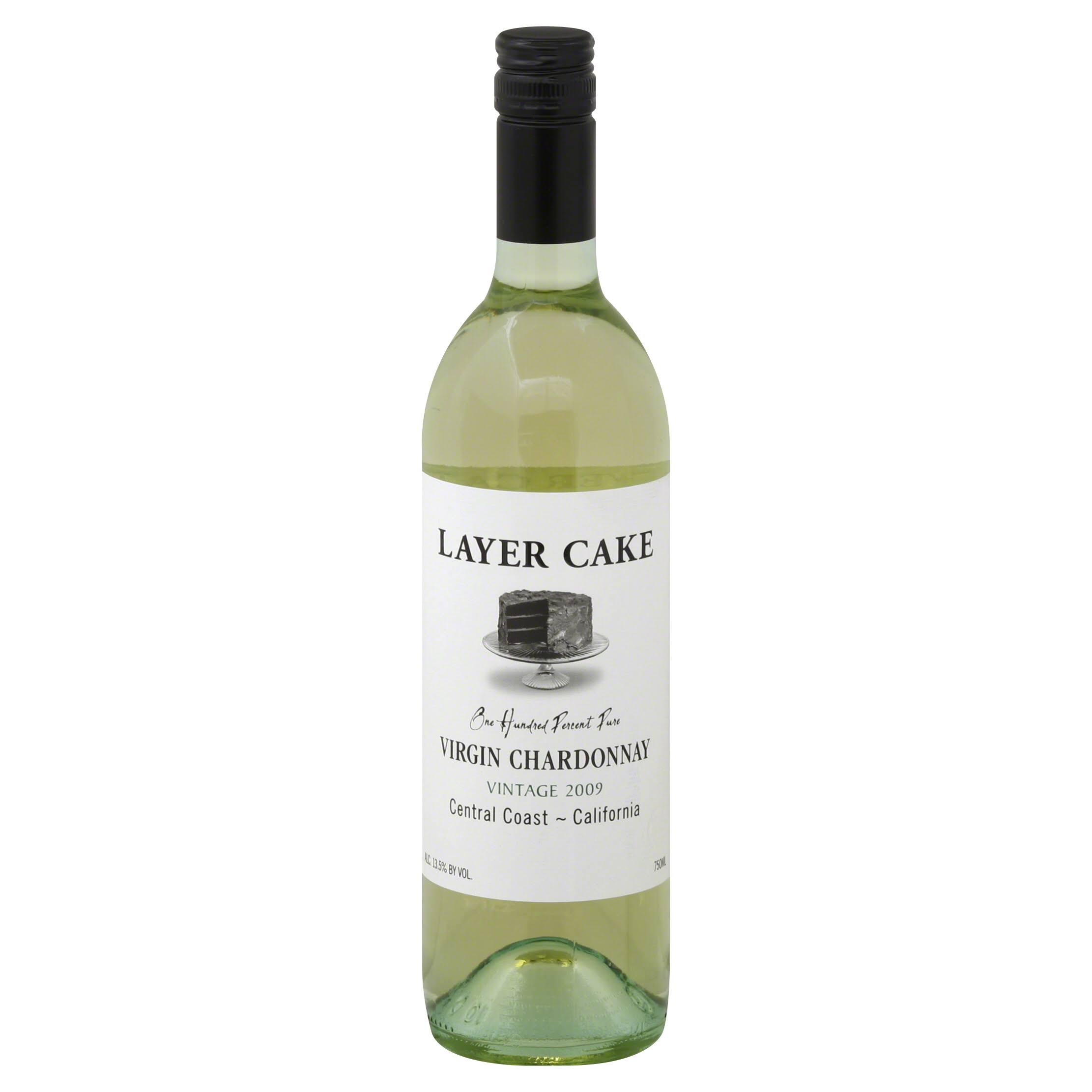 Layer Cake Virgin Chardonnay - 2009, Central Coast