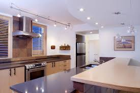 kitchen track lighting traditional with wood floors sound