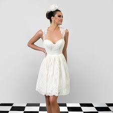 Short Rustic Wedding Dresses