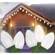 Replacement Light Bulbs For Ceramic Christmas Tree by Westinghouse Clear Bulb C7 Replacement Christmas Village Lights
