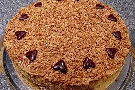 karamell kaffee torte