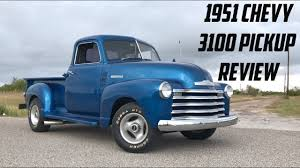 100 1951 Chevy Truck 3100 Hot Rod Pickup Review YouTube
