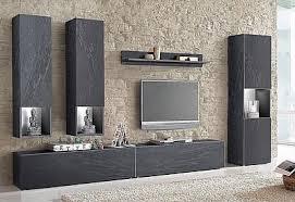 tecnos wohnwand set 6 tlg kaufen baur living room