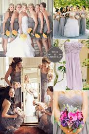 Glacier Gray Bridesmaid Dress Inspiration Spring Wedding 2015