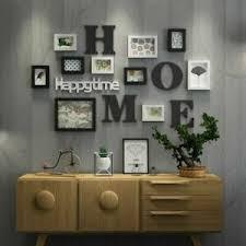 bilderrahmen wohnzimmer fotorahmen wand kreative restaurant