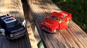 100 Chevy Silverado Toy Truck Kinsmart S 2014 Police Chevrolet 1955