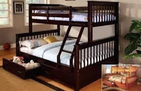 twin over full bunk bed plans free twin over full bunk bed with