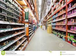 Aisle In A Home Depot Hardware Store Editorial graphy Image