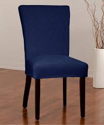 Look At This Indigo Montgomery II Stretch Dining Chair Cover On ... Chairs Navy Blue And White Striped Ding Room Chair Covers 1929 Best Rooms To Dine In Images On Velvet With Stretch Cover Temple Webster Seat Walmart Protectors Sure Fit Pique Multicoloured Room Chair Covers Is Good Short Ding Slipcovers New Design Grey Future Your Plans Wning Silver Set Table Incredible Pinstripe Short Taupe In Inspirational Interior Style