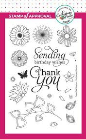 Enchanted Garden Stamp Set By SugarPea Designs
