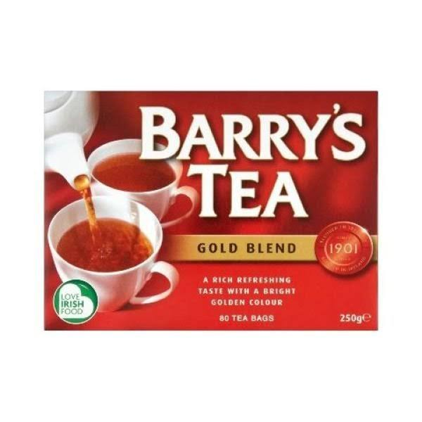 Barry's Tea Gold Blend Tea - 80 Teabags