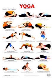 Beginner Yoga Poses Chart