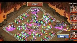 Castle Clash Pumpkin Duke Best Traits by Lava Isle 4 Successful Setup Castle Clash Youtube
