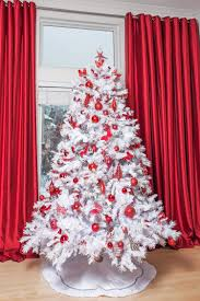 5ft Pre Lit White Christmas Tree by Pre Lit White Artificial Christmas Tree Christmas Lights Decoration
