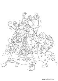 Buy Alice In Wonderland Coloring Book Dover Classic Verlie Navarre