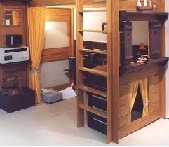 chambre enfant cabane lit cabane déco chambre enfant construire lit cabane