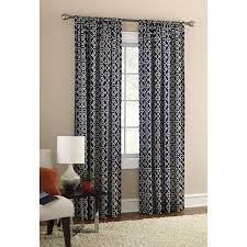 mainstays wave room darkening polyester curtain panel gray