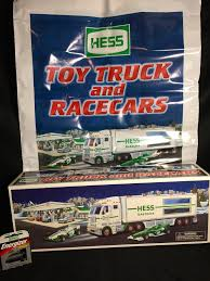 2003 HESS TOY Truck With Race Cars - $21.90 | PicClick