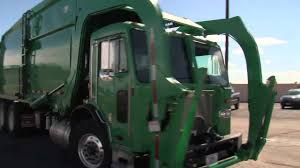 100 Rubbish Truck LANL Debuts Hybrid Garbage Truck YouTube