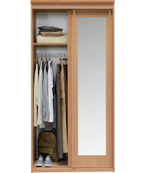 Ikea Aneboda Dresser Recall by Sniglar Wardrobe Beech White 81x50x163 Cm Sliding Door Small